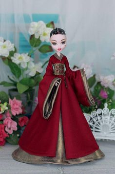 ORDER Game of Thrones Dress 3 for Monster High doll 1/6 size
