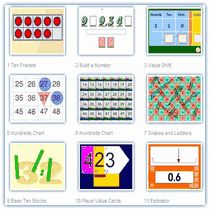 Interactive math tools, math activities and math fun for kids and their teachers