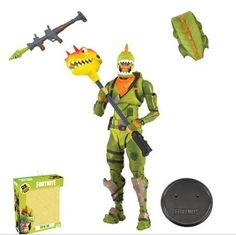 """Fortnite Loot Battle Box pour 4/"""" Figurines avec 7 pièces à l/'intérieur"""