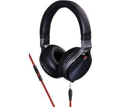KENWOOD KH-KR900 On-Ear Headphones with Microphone (Black) by KENWOOD