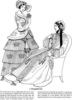 Welcome to Dover Publications Fashions of the Old South Coloring Book