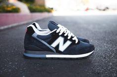 #NewBalance Made in USA 996 – #Navy Blue / White