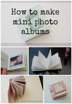 How to Make a Mini Photo Album