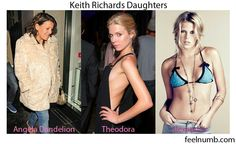 Keith Richards Daughters