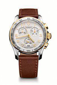 Unisex Hodinky Chrono Classic 241510 Swiss-made quartzový strojček ETA G10.211, Presnosť merania chronografu až 1/10 sekundy, tachymeter, priemer: ø 41 mm