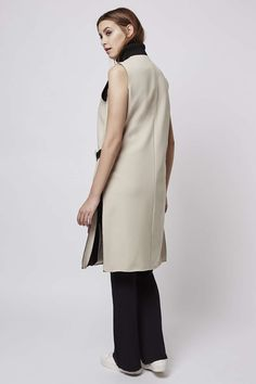Premium Belted Sleeveless Jacket - Sale - Sale & Offers - Topshop Europe