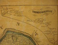 Trumbauersville spelled Trombowersville.