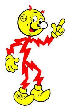 Reddy Kilowatt has all the power.