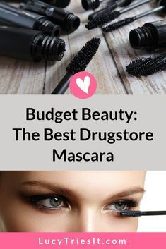 Here's a great makeup tip: you don't need a super expensive mascara to turn your short, thin lashes Best Drugstore Mascara, Best Mascara, Mascara Tips, How To Apply Mascara, Applying Mascara, Drugstore Beauty, Beauty Hacks For Teens, Natural Makeup Looks, Professional Makeup Artist