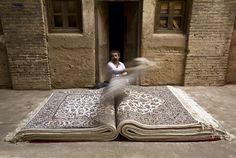 thedailypersian:  Persian Man x Persian Rug