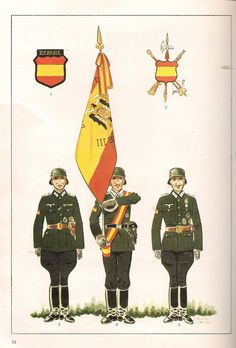 Imagen Spanish War, Ww2 Uniforms, Killed In Action, German Army, Military History, World War Two, Wwii, Germany, World