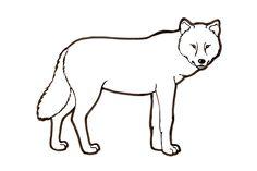 Kuvahaun tulos haulle susi värityskuva