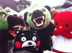 Bear Bear Bear! Kumamon,too./くまモン