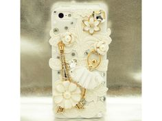 The Lovely Ballet Girl Case with Eiffel tower For iPhone 5
