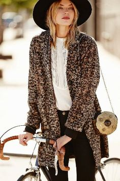 Hats and Leo print Don´t miss out on #fallessentials like this two: #hats and #leoprint Found on Styletorch