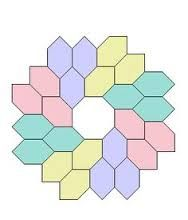 Image result for english paper piecing patterns free