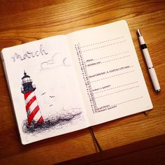 March 2018 Monthly Log @pagesbyleanne