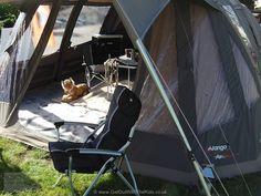 Vango Eden V 600 XL polycotton AirBeam tent