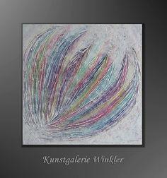 Acrylmalerei - Gemälde Acrylbild Abstrakt Leinwand Unikat Neu - ein Designerstück von Kunstgalerie-Winkler bei DaWanda http://de.dawanda.com/product/78535019-gemaelde-acrylbild-abstrakt-leinwand-unikat-neu