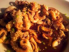 squid teriyaki