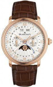 Blancpain Villeret Single Pusher Chronograph Watch 6685-3642A-55B