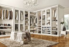 Today, Master Bedroom Ideas present you luxurious closets ideas for your master bedroom design. Get inspired by these elegant decorations.