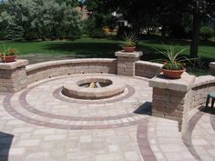 Fire pit by Ground Affects Landscaping Outdoor Living, Outdoor Decor, Outdoor Entertaining, Patio Ideas, Yard Ideas, Water Features, Milwaukee, Landscape Design, Outdoor Fireplaces