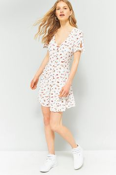 Pins And Needles Clothing Classy Pins & Needles Floral Frill Wrap Dress  Pinterest  Wrap Dresses Inspiration Design