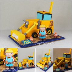 Bob the Builder- Bob- der Baumeister Cake (from fb: Hannover ChipChap Cake) Bob The Builder, Amazing Cakes, Party Ideas, Facebook, Cool Stuff, Toys, Mini, Hannover, Activity Toys