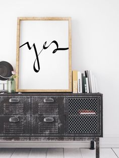 Yes, Boss Lady, motivational poster, Good Vibes,  hand lettered script, Like a Boss, Boss Babe, modern calligraphy, calligraphic, wall art