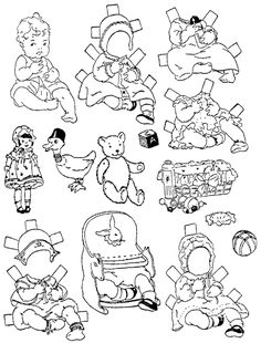 paper doll coloring pages printable | kids | pinterest | dolls ... - Paper Doll Clothes Coloring Pages