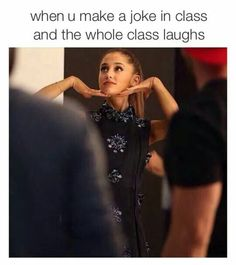 """Strike a pose there's nothinnnnn to it"" — arianagrande Funny Cute, The Funny, Hilarious, Camilla, Funny Pins, Funny Stuff, Strike A Pose, Funny Relatable Memes, Laugh Out Loud"