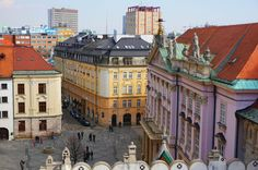 Bratislava, Old Town, Street View, Old City
