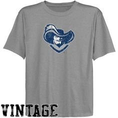 NCAA Xavier Musketeers Youth Ash Distressed Logo Vintage T-shirt - http://www.cincyshop.net/cincinnati-sports/xavier-university/ncaa-xavier-musketeers-youth-ash-distressed-logo-vintage-t-shirt/