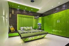 Awesome Bedroom Designs on Behance Bedroom False Ceiling Design, Room Design Bedroom, Bedroom Furniture Design, Modern Bedroom Design, Bedroom Ideas, Bedroom Designs, Bedroom Cupboard Designs, Bedroom Cupboards, Apartment Design