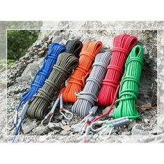 10M 25kN Renforcer Polyester Rocher Arbre Corde d/'escalade Sécurité