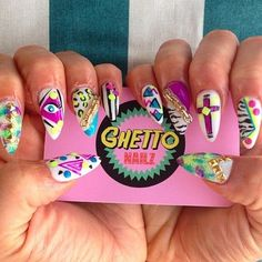 Ghetto Nailz, Madrid | 17 Nail Art Salons You Have To Visit Before You Die