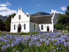 Franschhoek, South Africa- home of La Clé des Montagnes four luxurious villas on a working wine farm -www.lacle.co.za