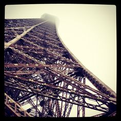 Its the Eiffel Tower in Paris! Help me spread the word reprint me please!!! =)!  Photo from the Instacanvas gallery for ashton_elise.