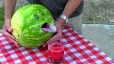 Video : How to make Watermelon smoothie hack in 2 minutes