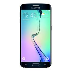 Samsung - Galaxy S6 Edge With 32GB Memory Cell Phone - Black Sapphire (sprint)