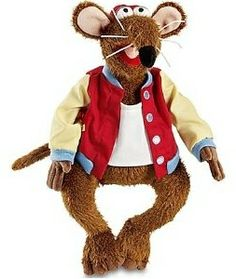 Disney The Muppets Rizzo Exclusive Plush Figure Jim Henson Puppets, Winnie The Pooh Costume, The Muppet Show, Kermit The Frog, Thing 1, Aristocats, Disney Merchandise, Plush Dolls, Baby Quilts