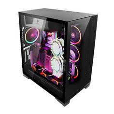 Dream Desk, Game Room Design, Desk Setup, Arcade Games, Video Game, Crystals, Crystal, Video Games, Crystals Minerals