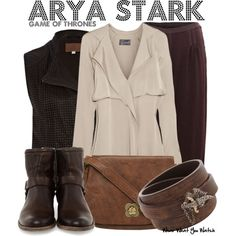 Inspired by Maisie Williams as Arya Stark on Game of Thrones.