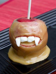 Sweet Tooth: Vampire Caramel Apples