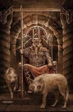 Родные Боги. Картины Игоря Ожиганова (54 картины) » RadioNetPlus.ru развлекательный портал