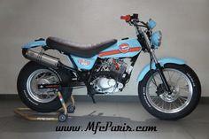 1 SUZUKI VANVAN VAN-VAN Gulf Edition MFC Design - Préparation motos, peinture, design, tuning, Suzuki - Kawasaki