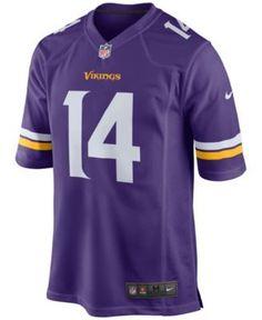 Nike Men s Stefon Diggs Minnesota Vikings Game Jersey - Purple XXL Minnesota  Vikings Game ebc21a059