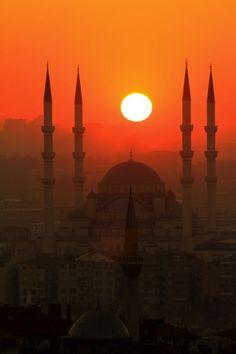 Sunset Instanbul