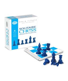 Take a look at this Brain Fitness Solitaire Chess Game today!